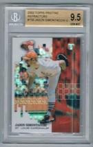 2002 Pristine Refractors #158 Jason Simontacchi Beckett 9.5 /799 - $79.15