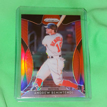 MLB ANDREW BENINTENDI BOSTON RED SOX 2019 PANINI PRIZM REFRACTOR #37 MINT - $1.35