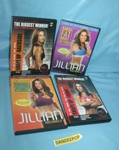 4 Assorted Jillian Michaels Exercise Fitness Workout DVD Movies - $39.59