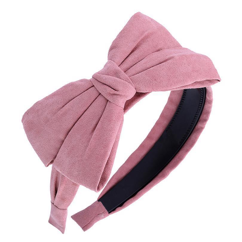Big Bow Women Hairband Headband Velvet Hair Accessory Hair Bands Suede Knotted