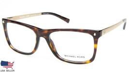 NEW MICHAEL KORS MK4040 IZA 3106 HAVANA /GOLD EYEGLASSES FRAME 52-16-135... - $89.09