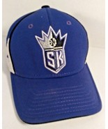 AUTHENTIC NBA SACRAMENTO KINGS LOGO BLUE WHITE VENTED MEN'S HAT CAP - $14.99