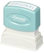 """XstamperR One-Color Title Stamp, Pre-Inked, """"Original"""", Blue - $12.26"""
