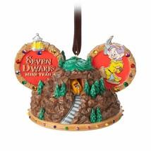Disney World Seven Dwarfs Mine Train Ear Hat Ornament, NEW - $34.00
