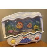 Fisher-Price Ocean Wonders Aquarium Baby Crib Soother 73545 Mattel 2002 Battery - $32.82