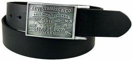 Levi's Men's Stylish Premium Genuine Leather Belt Black 11LV0253 image 8