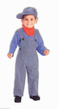 Lil' Engineer Train Conductor Child Halloween Costume Boy Size Small 4-6 - $23.02