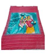 Indian Kantha Cotton Quilt For Sale Block Print Jaipuri Razai Bedding Supplier - $220.00