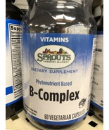Sprouts Farmers Market Phytonutrient Based B-Complex 60 Vegetarian Capsules - $22.95