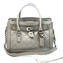 NEW! MICHAEL KORS Hamilton Microstud East West Satchel/Shoulder Bag #30F... - $326.58