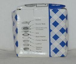 Dearborn Brass 774T Duplex Sink Strainer Brass Body Stainless Steel Strainer image 4