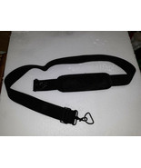 """21BB38 SHOULDER STRAP, WITH PAD, 57"""" MAX LENGTH, 1-7/8"""" WIDE, CARABINERS... - $8.82"""