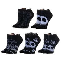 Nightmare Before Christmas Jack Skellington 5 Pack Ankle Socks - $19.99