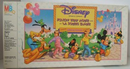 Vintage Disney Follow That Mouse Board Game Complete - $15.36