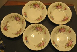 5 Vintage Aynsley Floral Bouquet Design Made in England Fine Bone China ... - $28.71