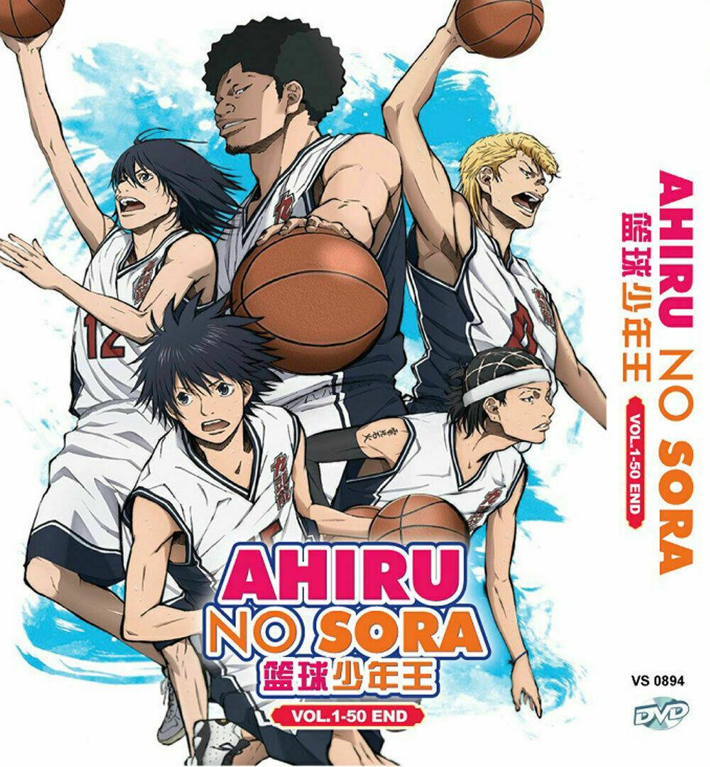 AHIRU NO SORA COMPLETE TV SERIES VOL.1-50 END DVD ENGLISH DUBBED Shiup From USA