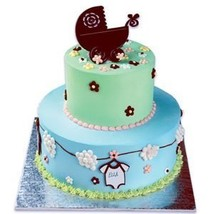 A Birthday Place Baby Buggy Cake Kit - $5.36