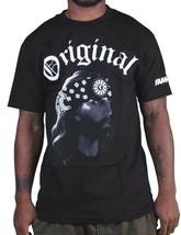 Famous Stars & Straps Herren Schwarz Gangsta Jesus Og T-Shirt FM03140062 Nwt