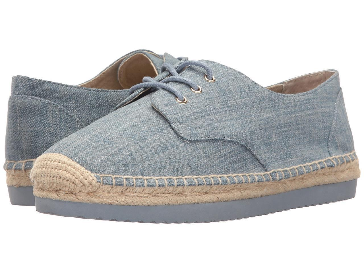 Michael Kors MK Women's Premium Hastings Lace-Up Fashion Sneakers Shoes Denim