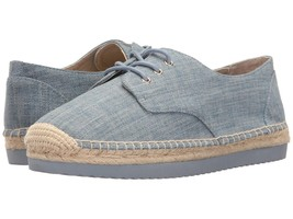 Michael Kors MK Women's Premium Hastings Lace-Up Fashion Sneakers Shoes Denim image 1