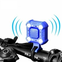 Bike Bell With Cycling Light Electric Horn Waterproof USB Charging Loud ... - $29.99