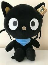 "XLarge 15.5"" Chococat Sanrio Super Cute Hello Kitty Plush Toy Black Cat. NEW. - $23.51"