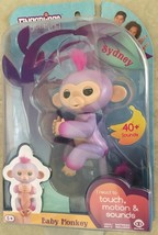 WowWee AUTHENTIC Fingerlings 2Tone Monkey - Sydney Purple with Pink Vale... - $31.49