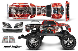 AMR Traxxas Stampede VXL Brushless Monster Truck RC Graphic Decal Kit 1/10 MAD R - $29.65