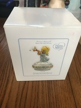 """Precious Moments """"Share The Gift of Love"""" Angel Playing Horn Musical Fig... - $32.05"""