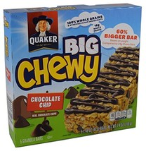 Quaker, Big Chewy, Chocolate Chip Granola Bars, 5 Count, 7.4oz Box (Pack... - $38.00