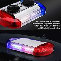 126 LED Strobe-Warning-Lights-Bar 12V Rotation Flashing Beacon Emergency Light M image 2