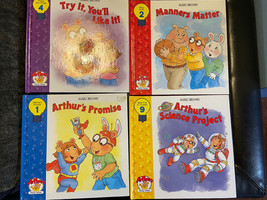arthur book lot 4 brand new marc brown books Hardcover. See Details. - $22.00