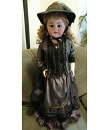 """Antique Simon & Halbig Germany large 30"""" doll leather jointed open mouth... - $2,400.00"""