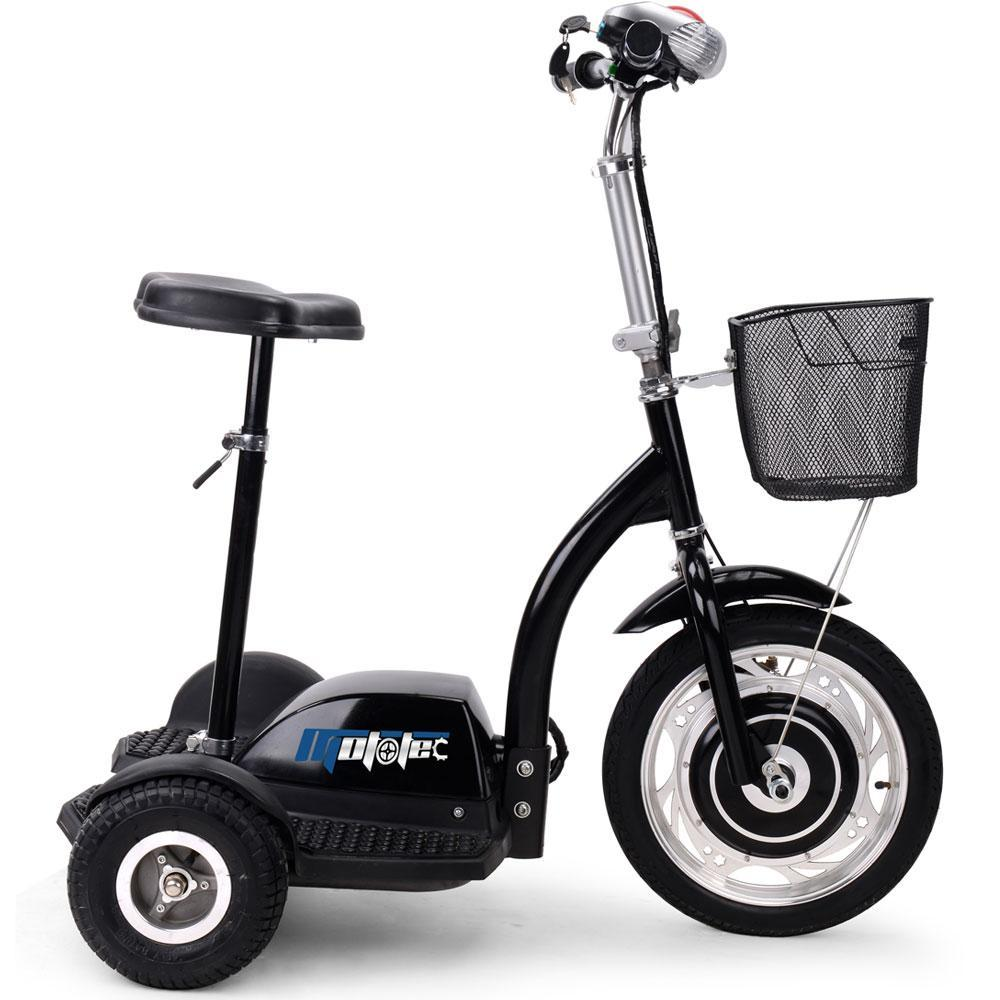 MotoTec Electric Trike 36v 350w Personal Transporter 3 Wheel Trike up to 15 MPH