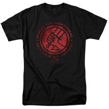 Hellboy II Golden Army T Shirt Bureau for Paranormal Research and Defense UNI133 image 1
