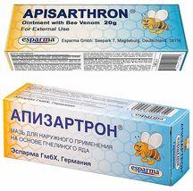 Apisarthron Ointment 20g Bee Venom. Anti-Pain Joint. Radiculitis. Bones,... - $18.99