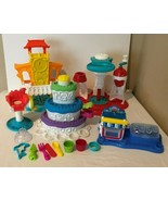 Play Doh Ice Cream Cake Oven Desserts House Accessories Playset Lot Set ... - $39.99