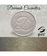 DEVINAH COSMETICS Highlighter YAS 44mm Pan Gold Flecks Shimmer NEW Vegan - $12.38