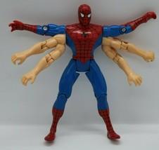 Spider-Man Animated Series Six Arm Spider-Man Action Figure Toy Biz 1995 - $4.99