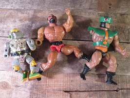 Lot of 3 Action FIGURES (Missing Arm) Turtles He-Man Masters of The Univ... - $9.89