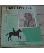 Sioux City Sue, Dick Thomas, Al Trace, 1945 OLD SHEET MUSIC - $5.93