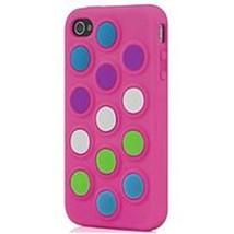 Incipio WM-IPH-114-PNK Dottie Customizable Silicone Case for iPhone 4/4S... - $20.98