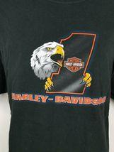 Harley Davidson Plainfield Indiana I-70 Black S/S Men's Motorcycle T Shirt XXL image 3