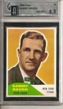 1960 Fleer #20 Sammy Baugh CO Compare to PSA / GAI 8.5 - $169.75