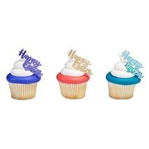 Happy Easter Gemstone Script Cupcake Picks 12 Count - $2.99