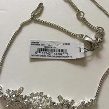 Givenchy Silver Tone Swarovski Element Crystals Necklace,NWT$78 image 3