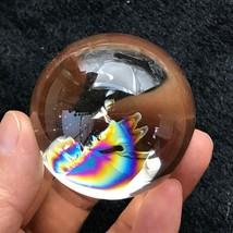 "2"" Light Smoky QUARTZ NATURAL CRYSTAL SPHERE Rainbow BALL Healing 183g - $137.56"