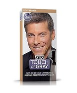 Touch of Gray Men's Hair Color, Light Brown - $10.79
