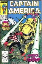 Captain America Comic Book #339 Marvel Comics 1988 VERY FINE - $2.75