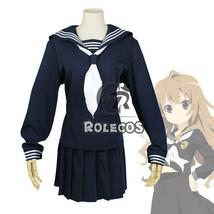 USA Ship Tiger Dragon Aisaka Taiga JK School Uniform Sailor Navy Cosplay... - $27.99